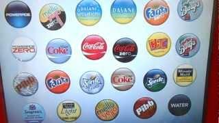 New Coca Cola Freestyle Soda Machine with 100+ flavors