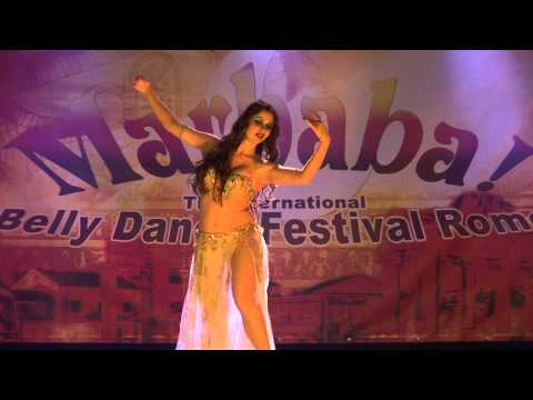 Maryem Bent Anis Ba3ad El Hob Belly Dance for Marhaba Festival...