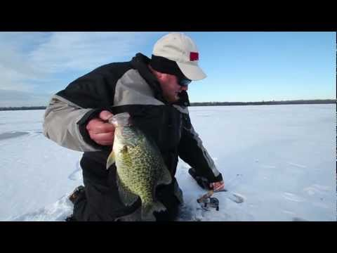 Ice Fishing - Early Slab Crappies