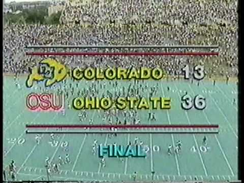 1985: Ohio State v. Colorado (Drive-Thru)