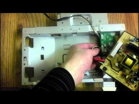 Samsung Syncmaster 923NW LCD Computer Video Monitor Repair Teardown and Reassembly
