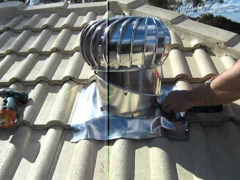 Roof Dampness Problem 1 Install Roof Vents Youtube