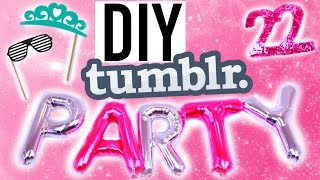 DIY Tumblr! Summer Birthday Treats, Decor +More!