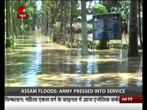 Assam Floods: Army pressed into service