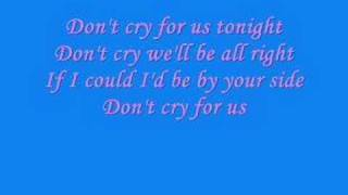 Watch Justincase Dont Cry For Us video