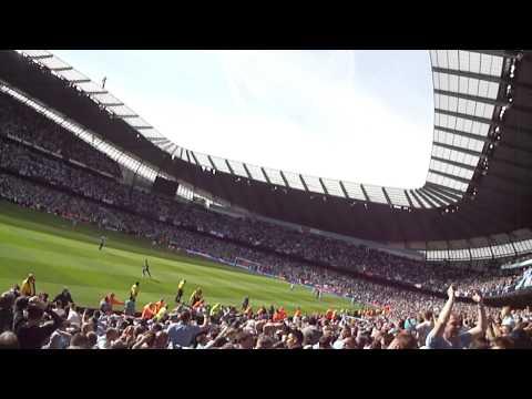 Aguero v QPR goal ! MCFC v QPR