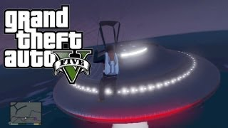 GTA 5 - Flying UFO Easter Egg #3! (Grand Theft Auto 5 Easter Eggs)