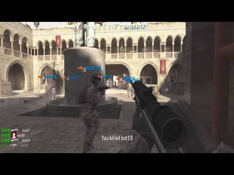 Cod4 Pc - Pezbot Mod - Rape Clips video