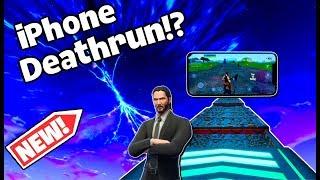 FORTNITE IPHONE XS MAX DEATHRUN!!