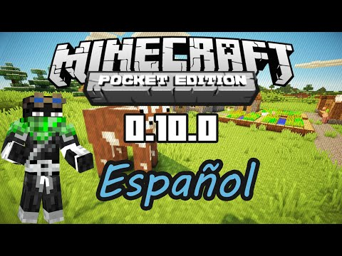 Minecraft PE 0.10.0 B 1 Traducido al Español Build 1