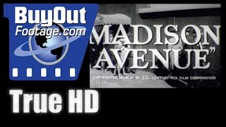 Madison Avenue 1961 HD Film Trailer
