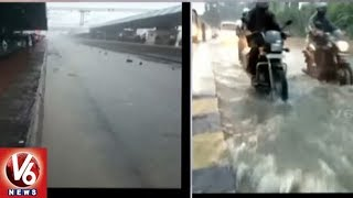Heavy Rains Lash Gujarat | Flights And Trains Affected In Mumbai