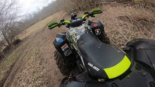 Can-Am Renegade 1000 xxc & Raptor 700 - Ride to drag race at Buds Hidden Spring Ranch - April 2019
