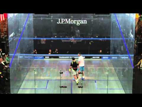 Squash: Shot Of The Month - Jan 2015 WINNER