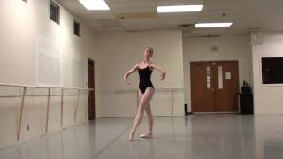 Olivia Bruhn Boston Ballet Audition