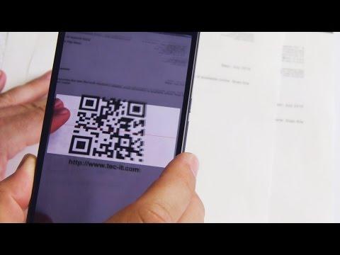 Android Barcodetastatur V2: Barcodes mit jeder App scannen