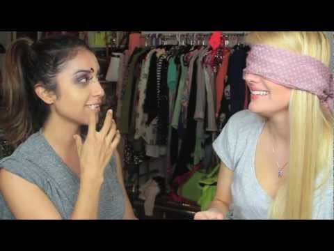 The Blindfolded Makeup TAG!