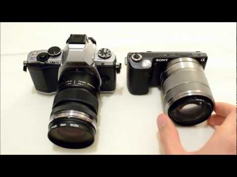 Olympus OM-D EM-5 vs. Sony NEX-5N Comparison: Handling. Build. Operation. Price. etc.