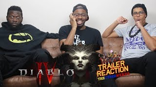 Diablo IV Official Cinematic Trailer Reaction