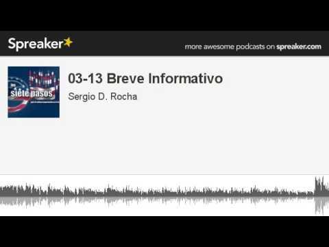 03-13 Breve Informativo (hecho con Spreaker)