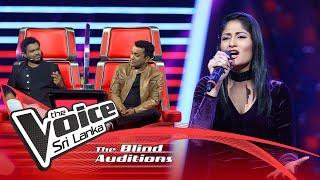 Roshel Samarasinghe - Nadee Ganga Tharanaye  Blind Auditions | The Voice Sri Lanka
