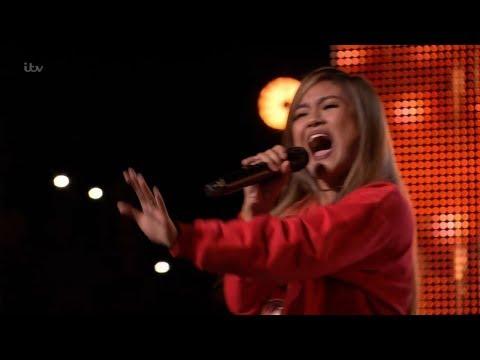 The X Factor UK 2018 Maria Laroco  Auditions  Clip S15E03