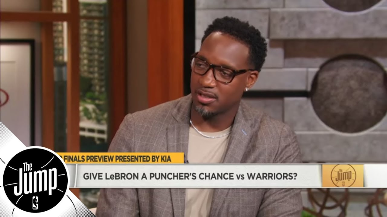 Tracy McGrady: LeBron doesn't have 'even a puncher's chance' to win NBA Finals | The Jump | ESPN