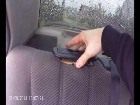 Видео как снять кресло