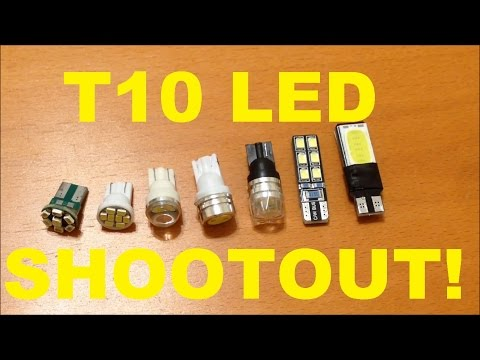 BEST License Plate LED Comparison ( T10 194 Wedge-Type for Ford F-150)