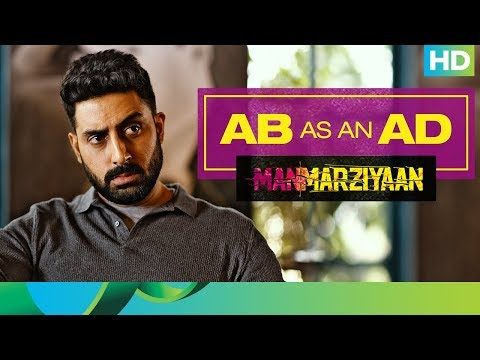 When Abhishek Bachchan turned AD | Abhishek Bachchan | Manmarziyaan | 14th September