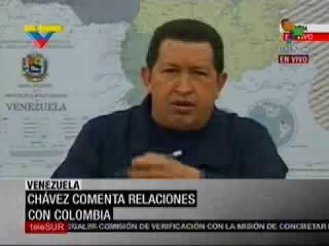 Hugo Chávez lamenta el asesinato de dos militares venezolanos en la frontera 04/11/2009