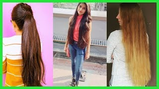 The Most Beautiful Long Hair Girls On YouTube And Instagram Part 50