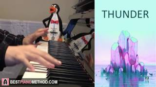Download Lagu Imagine Dragons - Thunder (Piano Cover by Amosdoll) Gratis STAFABAND