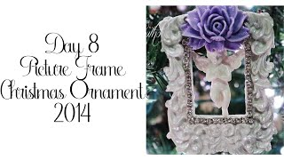 Day 8 of 10 Days of Christmas Ornaments with Cynthialoowho 2014!
