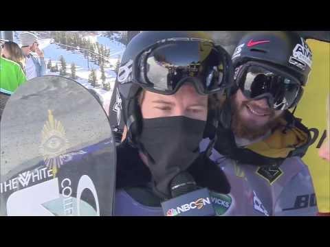 Shaun White Wins SNB Halfpipe Olympic Qualifier #4 - U.S. Snowboarding
