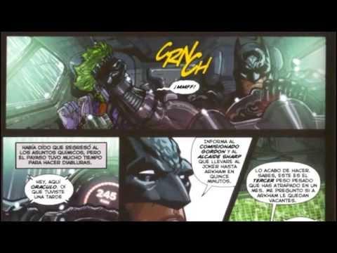 Comics Batman Arkham Asylum Batman Arkham Asylum Road to