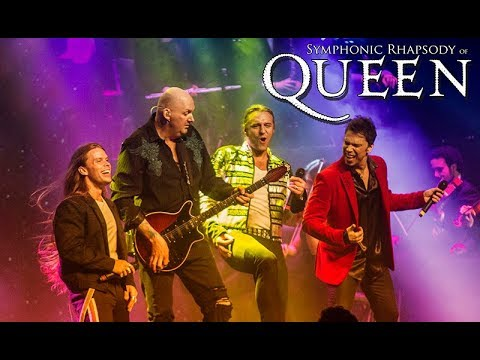 Symphonic Rhapsody Queen - Kind of Magic Tour 2018