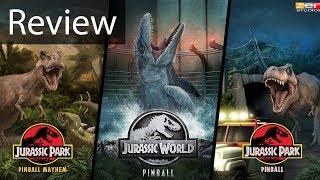 Pinball FX3: Jurassic World Pinball Table Gameplay Review