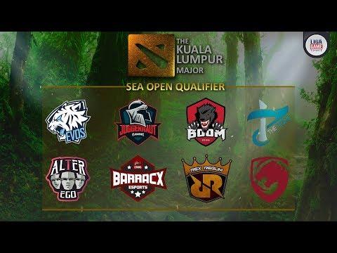 The Kuala Lumpur Major - SEA Open Qualifier 1 (BO1) - dota 2 live