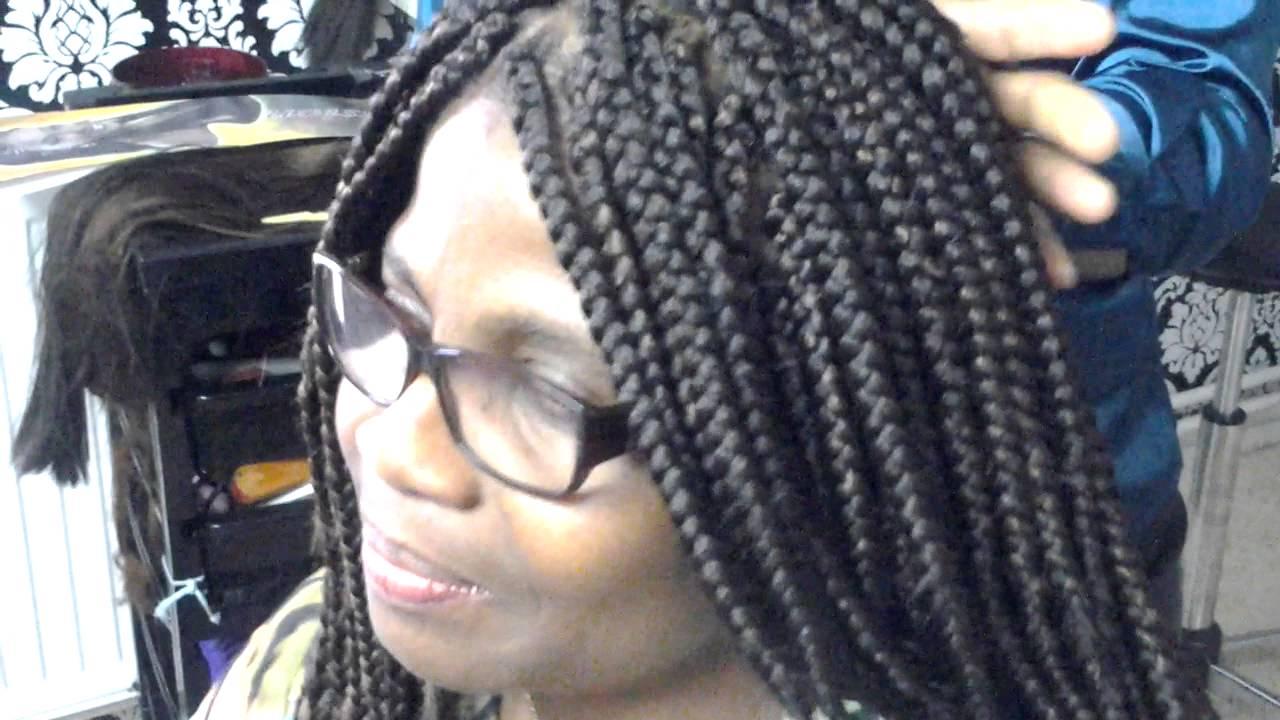 Crochet Box Braids Vs Regular Box Braids : Crochet Box Braid , partie 1 - YouTube