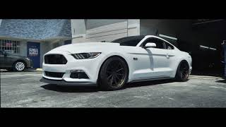 Ford Mustang S550 Bagged | Velgen Forged VFMP | 20""