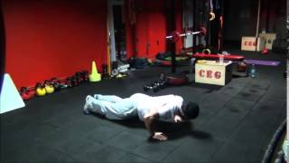 push up rotational