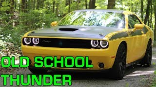 2017 DODGE CHALLENGER T/A: A Hilarious Dose Of Old School Muscle In A World Of Crossovers