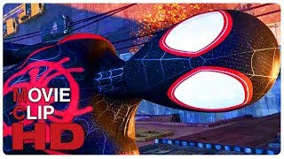 Miles Morales Spider Man Origin Story Scene | SPIDER-MAN: INTO THE SPIDER-VERSE (2018) Movie CLIP HD