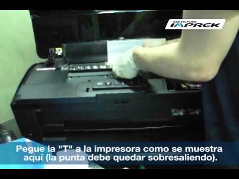 Instalacion de sistema continuo en impresora Epson 1430