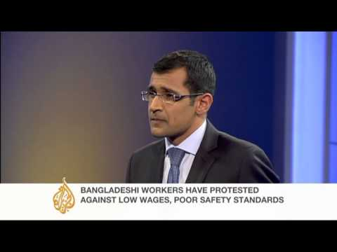 Muhammad Yunus speaks about Bangladesh's factory workers