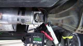 On-Car Driveshaft Balancing - Part 1 of 2 - EVA Strobe Light