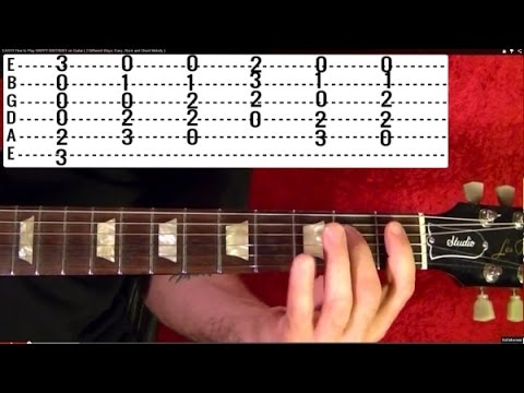 Hurt by JOHNNY CASH - Guitar Lesson