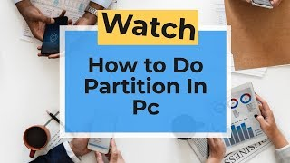 How to do disk partition in windows 8/8.1/10 | YuvrajMalhiOfficial