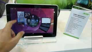Acer Iconia Tab A210 Tablet Hands On